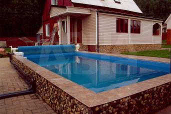 Строительство открытых бассейнов