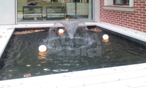 фонтан на участке