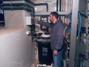 Настройка прудового оборудования