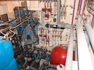техническое помещения для оборудования бассейна