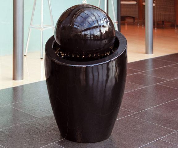 декоративный интерьерный фонтан