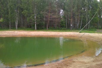 гидроизоляция пруда